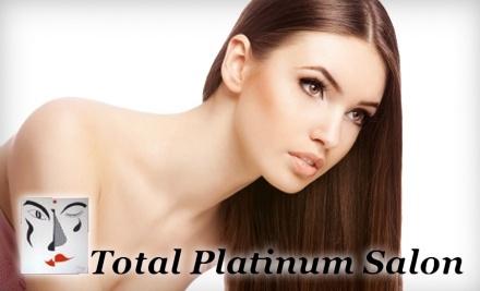 $40 Groupon to Total Platinum Salon - Total Platinum Salon in Grove City