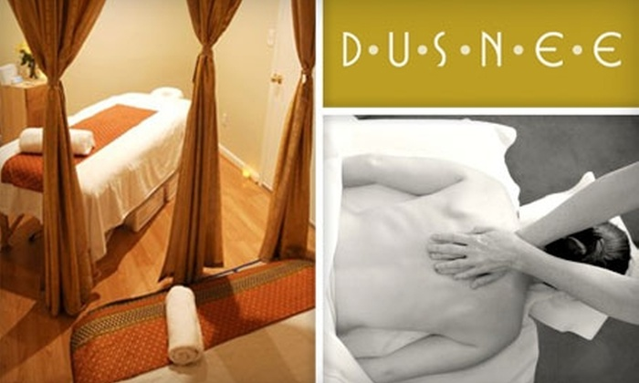 Dusnee Thai Spa - Upper East Side: $65 for a 90-Minute Thai Warm-Oil Massage-Therapy Session at Dusnee Thai Spa