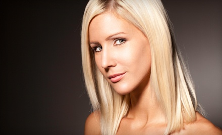 Haircut, Partial Highlights or Lowlights, Scalp Massage, and Style (a $95 value) - ToweBella Salon in Charlotte