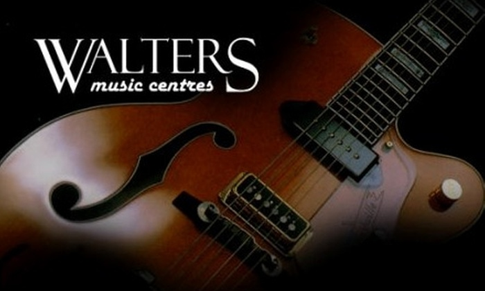 Walters Music Centres - Masonville: $39 for Music Lessons (Up to $87 Value) or $7 for $15 Worth of Equipment at Walters Music Centres
