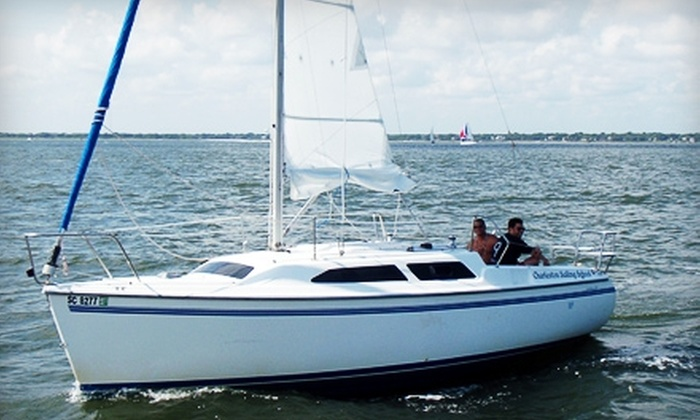 Charleston Sailing School - Charleston: $70 for a Two-Hour Intro to Sailing Class from Charleston Sailing School ($150 Value)