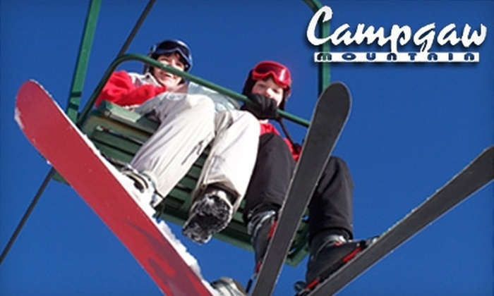 Ski Campgaw - Mahwah: $17 for an All-Day Lift Ticket, $32 for a Ski Lesson and Lift Ticket, or $37 for a Snowboard Lesson and Lift Ticket at Ski Campgaw (Up to a $74 Value)