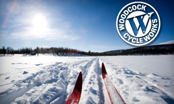 Woodcock Cycle Works - Glenwood: $20 for a Three-Day Salomon Cross-Country Ski Rental from Woodcock Cycle Works ($40 Value)
