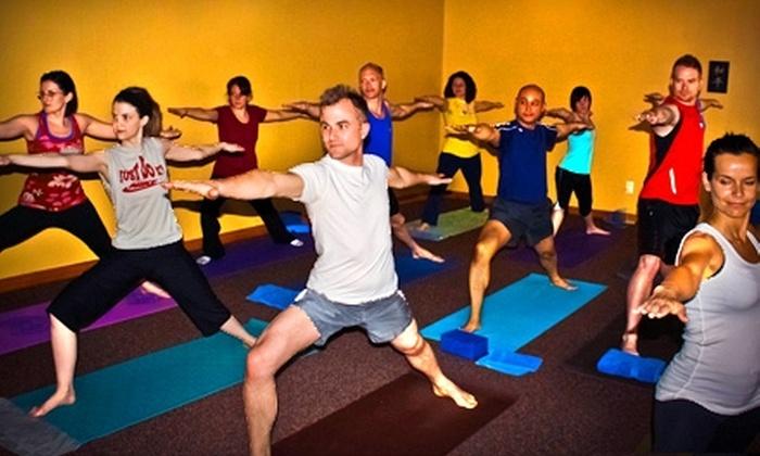 Evansville Power Yoga - University South: $20 for Eight Yoga Classes at Evansville Power Yoga (Up to $56 Value)