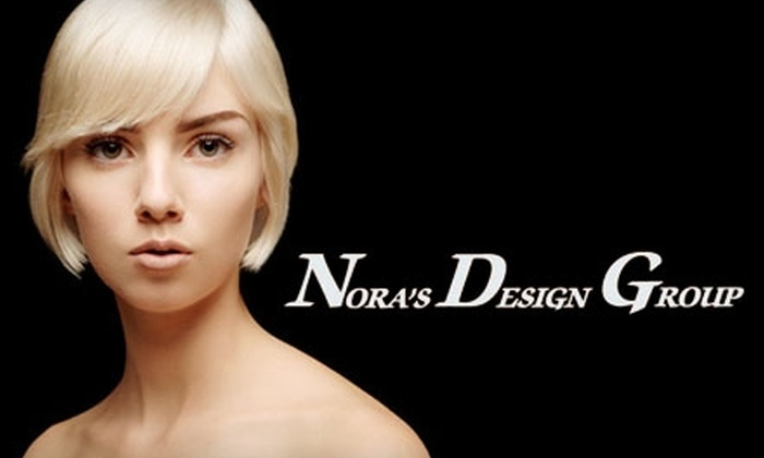 Nora's Design Group - Kettering: Salon and Spa Services at Nora's Design Group. Choose from Three Options.