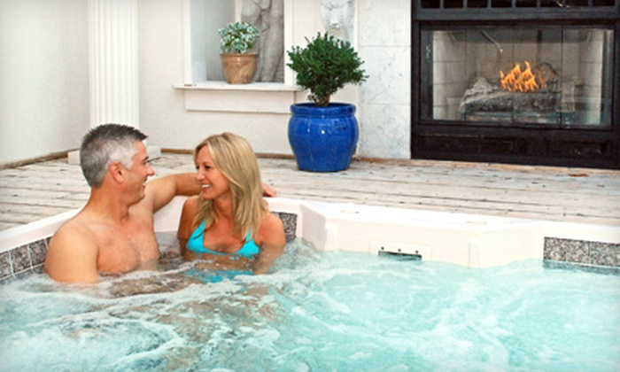 Half Off Private Hot Tub Lounging Oasis Hot Tubs Groupon