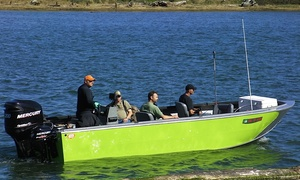 FinandScale.com: Full-Day Guided Fishing Trip for One or Two from FinandScale.com (Up to 52% Off)