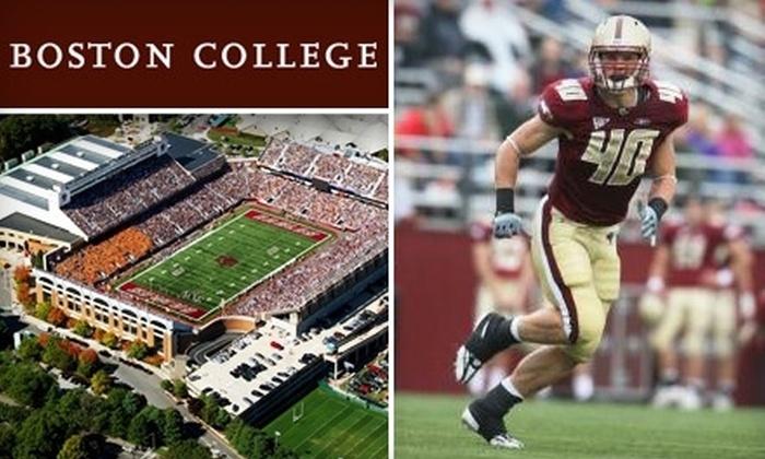 Boston College - Brighton: $15 for One Ticket to the Boston College vs. University of Virginia Football Game on November 20 ($35 Value)