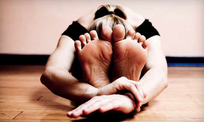 The Yoga Shala - Downtown: $55 for 10 Classes at The Yoga Shala ($128.80 Value)
