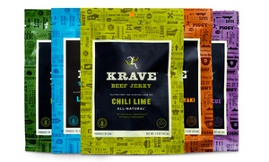 5-Pack of Krave Jerky; 1.5 Oz. Bags