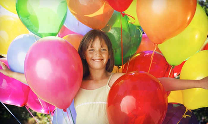 Balloon Squad - Downtown Sioux Falls: 1.5-Hour or 2-Hour Balloon Birthday-Party Packages or $20 for $40 Worth of Balloons at Balloon Squad (Up to 51% Off)