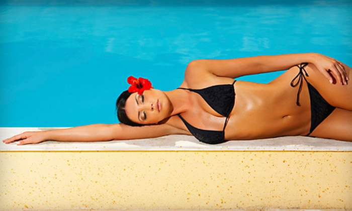 Salon Bronze - Burlington: UV and UV-Free Tanning Services at Salon Bronze in Burlington. Two Options Available.