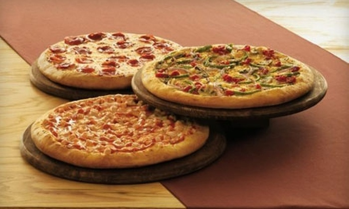 CiCi's Pizza - Flower Mound: $12 for Three Medium Pizzas at CiCi's Pizza in Flower Mound (Up to $24 value)