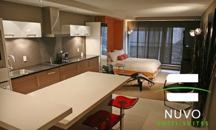 Nuvo Hotel Suites - Beltline: $65 for a One-Night Stay at Nuvo Hotel Suites