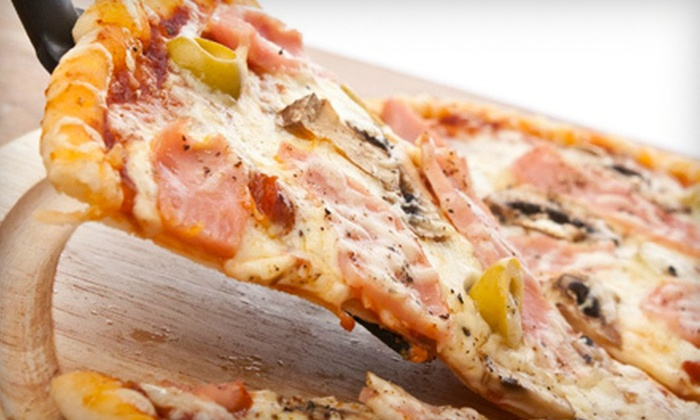 Pizano's Pizza - Multiple Locations: $11 for a Pizza Meal with Two Orders of Breadsticks and Two Drinks from Pizano's Pizza (Up to $23.95 Value)