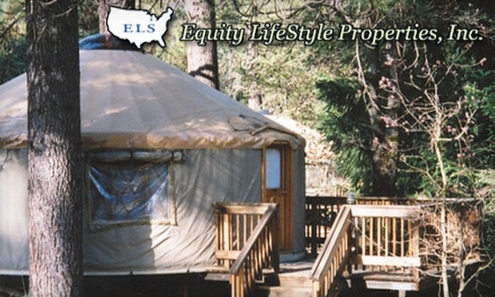 Yosemite Lakes - Twain Harte-Tuolumne City: $109 for a 2-Night Stay in a Yurt for Up to 6 People at Yosemite Lakes ($218 Value)