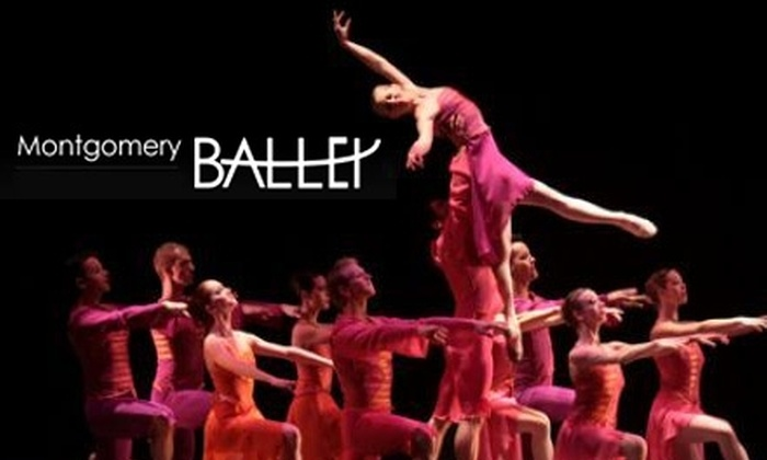 "Montgomery Ballet - Montgomery: One Ticket to the Montgomery Ballet's ""An Evening of Premieres"" (Up to $35 Value). Choose Between Two Options."