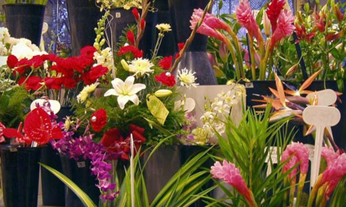 Relles Florist - Multiple Locations: $25 for $50 Worth of Floral Arrangements at Relles Florist