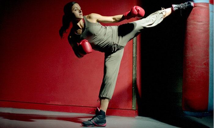 CKO Kickboxing - Multiple Locations: Five Kickboxing Classes or One Month of Unlimited Classes at CKO Kickboxing (Up to 67% Off). Three Locations Available.