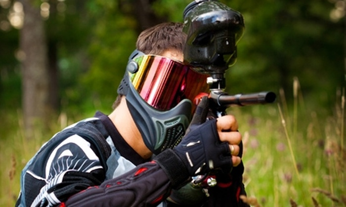 Westworld Paintball Adventures - Multiple Locations: $28 for One Admission, Equipment, and 500 Paintballs at Westworld Paintball Adventures ($54.50 Value)