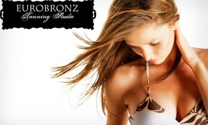 EuroBronz Tanning Studio - Multiple Locations: $10 for One Month of Unlimited Tanning OR One Mystic Tan at EuroBronz Tanning Studio (Up to $40 Value)