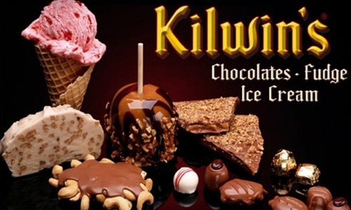 Kilwin's - Near North Side: $29 for a Chocolate-and-Fudge Basket at Kilwin's in Old Town ($61.35 Value)