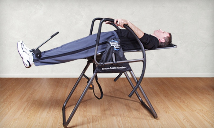 Home Therapy Inversion System: $199 for a 55-1539A Home Therapy Inversion System from Groupon Goods ($399.99 Value). Shipping Included.