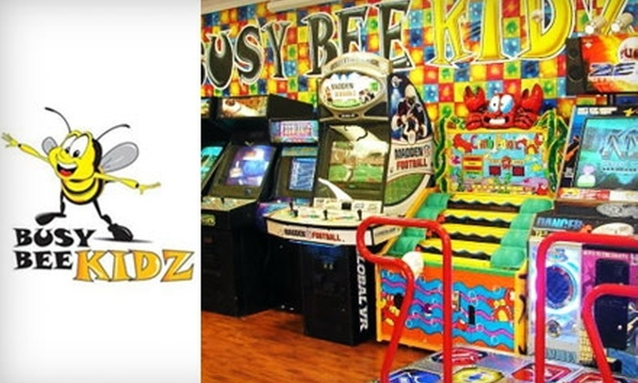 Busy Bee Kidz Interactive Play and Party Center - Cooper City Commerce: $7 for One Children's Admission to an Open Play Session at Busy Bee Kidz Interactive Play and Party Center in Cooper City (Up to $15.90 Value)