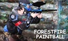 ForestFire Paintball - Lake Stevens: $25 for All-Day Entry, Equipment Rental, Limitless Air, and 500 Paintballs at ForestFire Paintball in Lake Stevens
