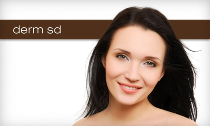 San Diego Dermatology and Laser Surgery - Carmel Valley: $65 for a Medium Chemical-Peel Treatment ($175 Value) or $59 for a Revitalizing Eye Treatment ($125 Value) at San Diego Dermatology and Laser Surgery