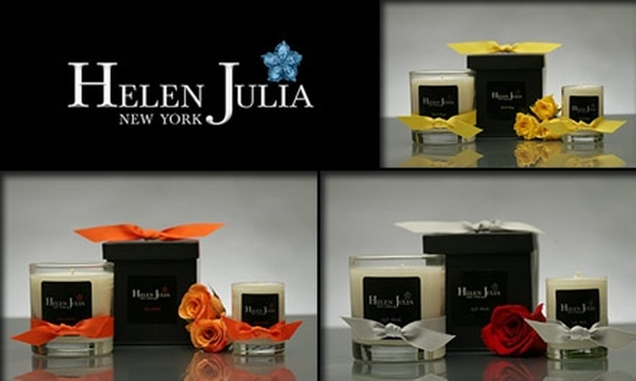 Helen Julia - New York City: $20 for $40 Worth of High-End Candles at Helen Julia