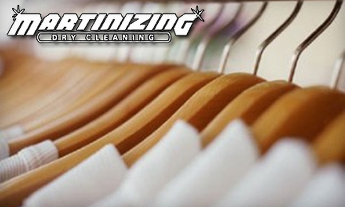 Martinizing Dry Cleaning - Multiple Locations: $9 for $20 Worth of Eco-Friendly Dry Cleaning at Martinizing Dry Cleaning