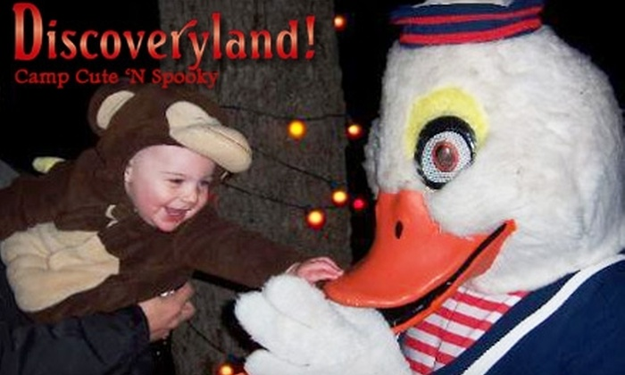 Camp Cute 'N Spooky - Tulsa: $6 for Two Tickets to Camp Cute 'n Spooky at Discoveryland! in Sand Springs ($12 Value)