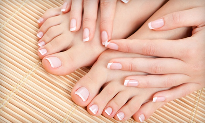 Trio Hair Studio - Solon: One or Three Shellac Manicures and Spa Pedicures at Trio Hair Studio in Solon (Up to 60% Off)