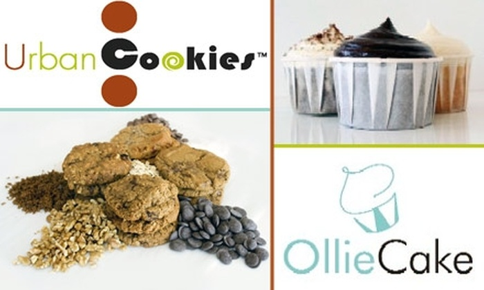 Urban Cookies  - Camelback East: $10 for a Dozen Organic Cookies or Cupcakes at Urban Cookies