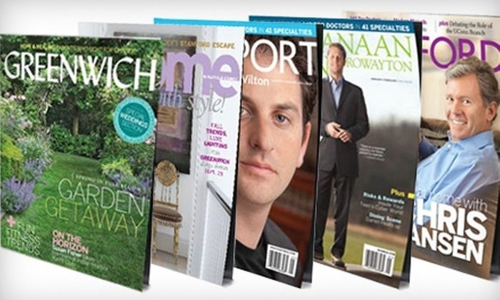 Moffly Media - Old Greenwich: One-Year Magazine Subscription from Moffly Media. Five Options Available.