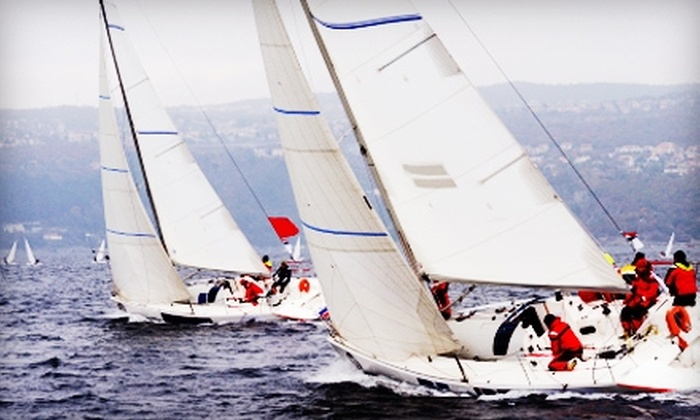 Marina Sailing - Newport Beach: $62 for Intro to Sailing Excursion ($125 Value) or $247 for Two Basic Sailing Lessons ($495 Value) at Marina Sailing in Newport Beach