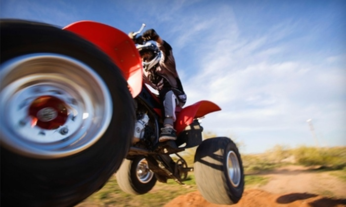Rebel Adventure Tours - Las Vegas: $75 for an ATV Adventure Tour Followed By Drinks from Rebel Adventure Tours ($175 Value)