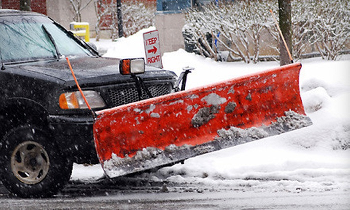 Mark's Snow Plowing - Westside Connection: $150 for a Full Season of Snow Plowing from Mark's Snow Plowing in Grandville ($300 Value)