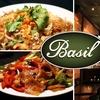 Half Off at Basil Restaurant