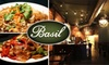 Basil Restaurant - Short North: $10 for $20 Worth of Thai Cuisine and Drinks at Basil Restaurant
