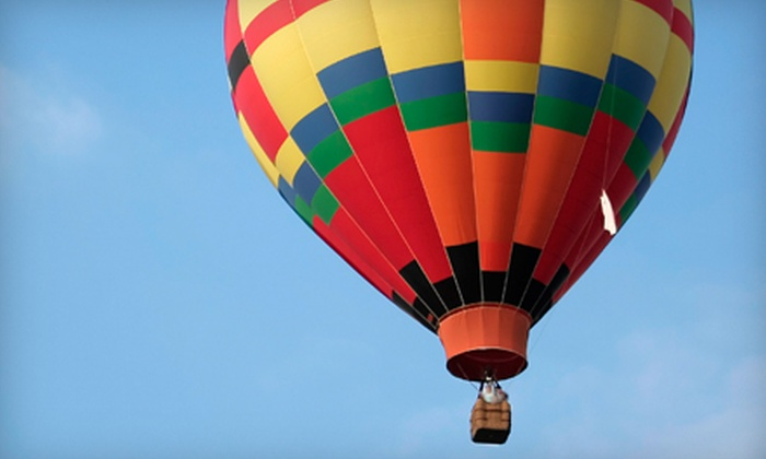 Vegas Balloon Rides - Winchester: Weekday or Weekend Sunrise Hot Air Balloon Flight for Two from Vegas Balloon Rides (Half Off)