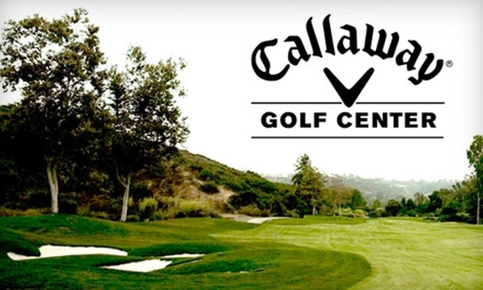 Callaway Golf Center - The Strip: $15 for Nine Holes of Golf, Cart Rental, and Bucket of 90 Balls at The Callaway Golf Center (Up to a $49 Value)