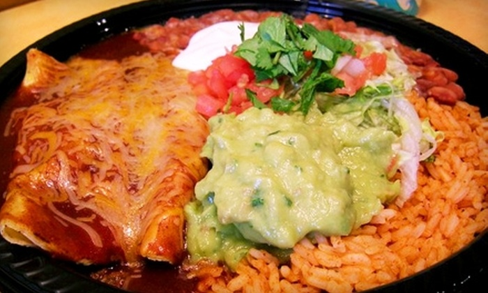 Taco Del Mar - Cloverdale: $5 for $10 Worth of Fresh Mexican Fare at Taco Del Mar