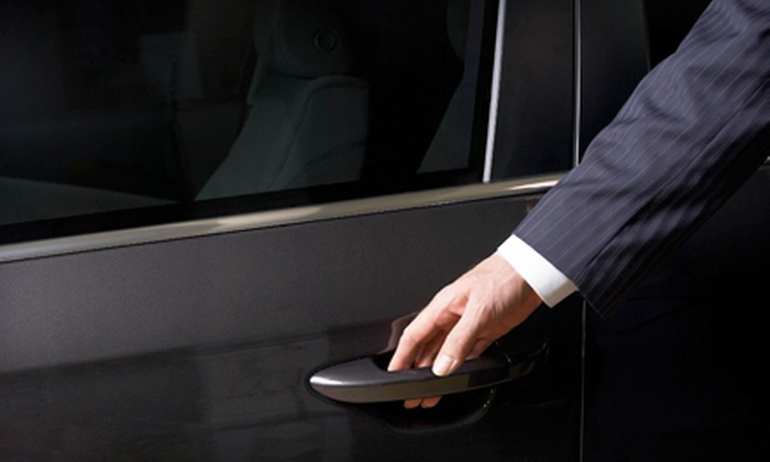 Premier Limousine - Mesta Park: One-Way Limousine Airport Transportation or Three-Hour Limousine Lunch Service from Premier Limousine (Up to 56% Off)