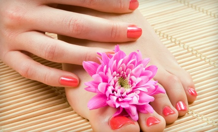 Clear Shellac Nail Treatment for Hands and Feet (a $80 value) - Avida Salon & Spa in El Paso
