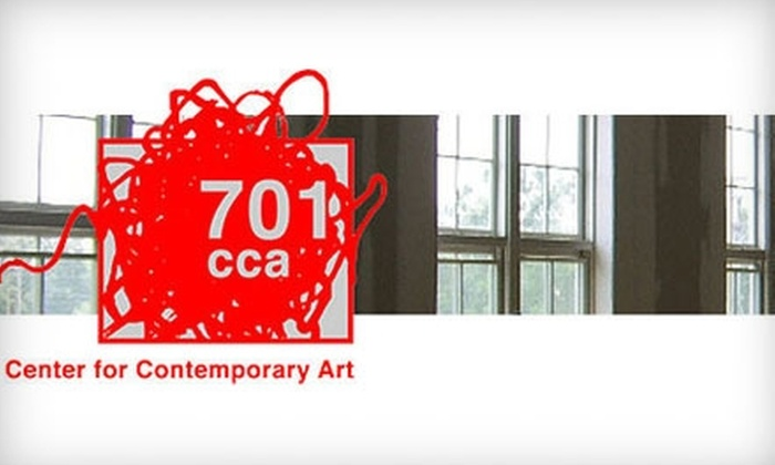 701 Center for Contemporary Art - Whaley Street: Membership to 701 Center for Contemporary Art. Choose Between Two Options.