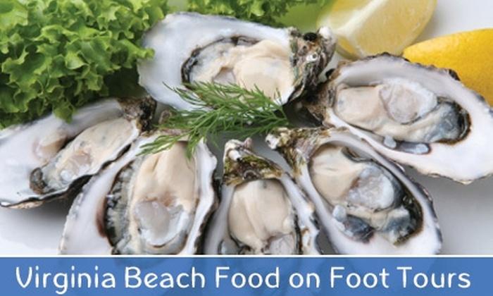 Virginia Beach Food on Foot Tour - Northeast Virginia Beach: $10 for a Walking Food Tour from Virginia Beach Food on Foot Tours ($20 Value)
