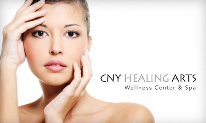 CNY Healing Arts - Brighton: $25 for 30-Minute Aveda Plant Peel or Gommage Treatment at CNY Healing Arts ($50 Value)
