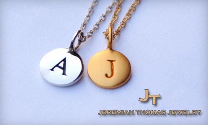 Jeremiah Thomas Jewelry: $20 for $40 Worth of Pendants and More from Jeremiah Thomas Jewelry